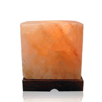 Large Cube Salt Lamp